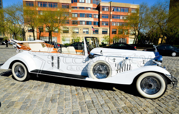 NY Rolls Royce Convertible Limousine For Wedding